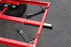 What are you using for stabilizers/levelers on your trailer with a RTT? Trailer Kits, Kayak Trailer, Off Road Camper Trailer, Trailer Plans, Trailer Build, Utility Trailer, Camper Trailers, Expedition Trailer, Overland Trailer