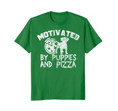Pizza and Dog Lover Shirt Motivated by Puppies and Pizza. Cool T-Shirts Casual Style For Men Over 50, Men Casual, Wedding Shirts, Classy Men, Cool T Shirts, Tee Shirts, Couple Shirts, Shirt Shop, Branded T Shirts