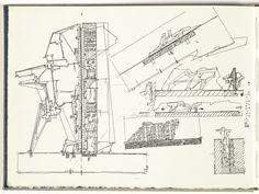 markcareaga: Lebbeus Woods' Sketchbooks As part...   SFMOMA