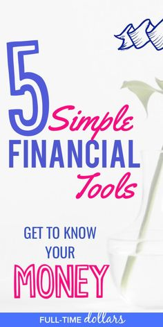 Get To Know Your Money By Using Financial Tools! Tracking And Monitoring  Your Money Can