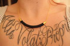 Stitch Fix : Round Six- DIY rope necklace