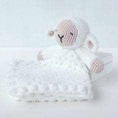TillySome shared a new photo on Etsy Sleepy Sheep Lovey Pattern Security Blanket Crochet Lovey Crochet Security Blanket, Crochet Lovey, Lovey Blanket, Crochet Bunny, Crochet Blanket Patterns, Baby Blanket Crochet, Crochet For Kids, Crochet Animals, Crochet Toys