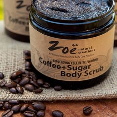Coffee+Sugar Body Scrub