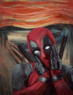 #Deadpool #Fan #Art. (Deadpool) By:Inhophetaminex. (THE * 5 * STÅR * ÅWARD * OF: * AW YEAH, IT\'S MAJOR ÅWESOMENESS!!!™) ÅÅÅ+