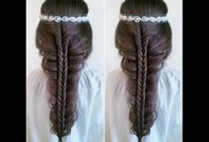Image result for simple hairstyle for school girls