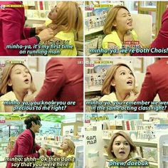 Queen of Persuasion, Sooyoung! Srsly, if Sooyoung wasn't an idol, she'll be good in marketing sales or advertising products.