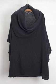 Cinder Laurel Poncho by 360 Cashmere $380   shopheist.com