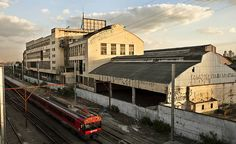 Antiga fábrica da Antarctica no bairro da Mooca, na zona leste de São Paulo. © Eduardo Knapp/Folhapress