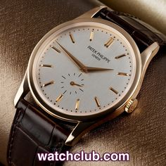 "Patek Philippe Calatrava Rose Gold - ""Full Set"" REF: 5196R 