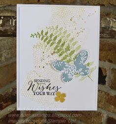 Stampin' with Nanna: Butterfly Wishes Card
