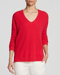 Vince Sweater - V Layout Cashmere | Bloomingdale's