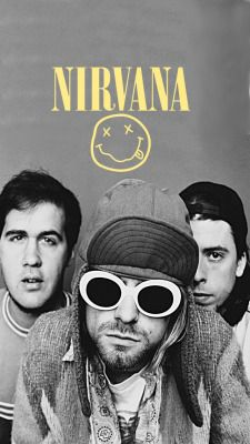 For everything Nirvana check out Iomoio Nirvana Art, Nirvana Kurt Cobain, Nirvana Lyrics, Nirvana Logo, Hard Rock, Rock And Roll, Digital Foto, Alternative Rock, Rock Band Posters