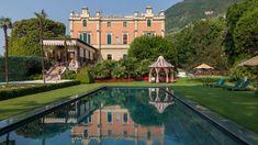 Reisetipp: Dieses luxuriöse Grandhotel bezaubert mit historischem Flair und wunderschöner Lage am Gardasee Design Hotel, Boutique Hotels, Verona, Villa, Travel Tours, Travel Ideas, Grand Hotel, Hotel Spa, Hotel Reviews