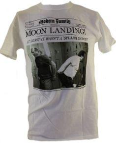 """Moon Landing"" Newspaper Style – Modern Family   $18.99"