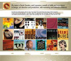 Marketing Design by Derek Davalos, via Behance