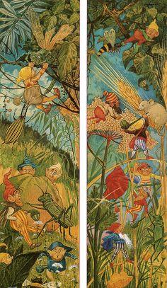 George Cruikshank (1792-1878) - Fairyland scenes