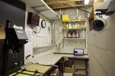 A well equipped darkroom, if you're not into the digital age.