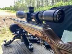 Optics Buying Guide: How To Properly Zero Your Scope, The test rifle for these examples was a Volquartsen 17 WSM Deluxe with a Burris Veracity 4-20x50 scope.