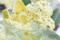 Spring spritzer is the perfect, pretty drink Fruit Infused Water, Elderflower, Juice Smoothie, Spring Recipes, Eat Smarter, Savoury Dishes, Fruit Recipes, Healthy Drinks, Detox