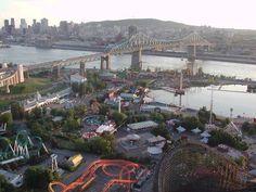 La Ronde,Montréal Paris Skyline, Photos, Travel, Pictures, Viajes, Destinations, Traveling, Trips