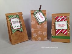 Klompen Stampers (Stampin' Up! Demonstrator Jackie Bolhuis): Feelin' Like the BAG LADY!
