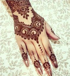 Arabic Mehndi Designs For Eid 2017 To Color Your Hands