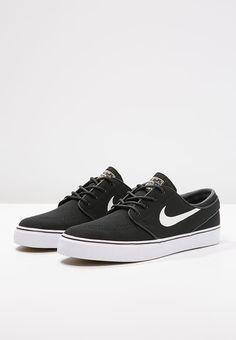 Nike SB ZOOM STEFAN JANOSKI - Buty skejtowe - black/white - Zalando.pl