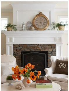 SoPo Cottage: Fireplace and Mantle Update