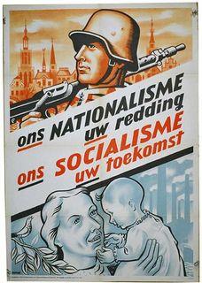 Dit laat zien wat het nationaalsocialisme inhoud.