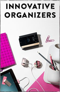 Back to reality? This collection of neat and tidy organizers and problem solvers is just the thing to help you get your life back in order from The Grommet. #PintoWin