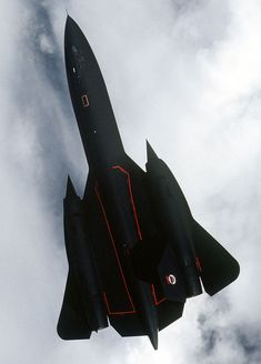 Black Bird, Sleek stealth bomber. Isn\'t she just a darling to look at? True love at Mach 3+.