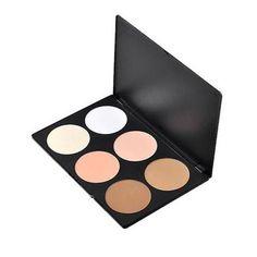 6 Color Blush/Highlighter/Bronzer Palette