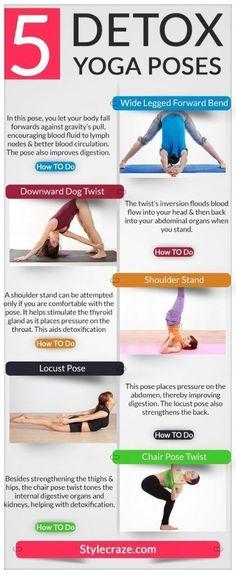 5 Best Yoga Poses For Detoxification