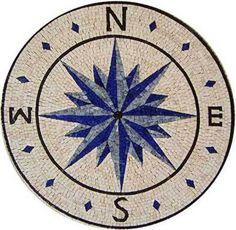 Mosaics - Mosaic Medallions - Nautical