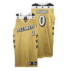nba jerseys washington wizards 0 gilbert arenas swingman old gold jersey