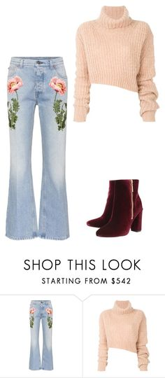 """""""Senza titolo #101"""" by irene1562 on Polyvore featuring moda, Gucci, Ann Demeulemeester e Ravel"""