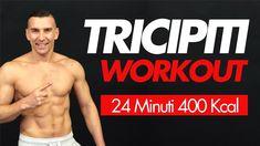 Oggi voglio farti provare un allenamento per Tricipiti Workout in Casa una specializzazione per i Tricipiti. Si lavorerà a corpo libero e con un manubrio. Trx, Workout, Kettlebell, Hiit, Personal Trainer, Swimwear, Home, Bathing Suits, Swimsuits