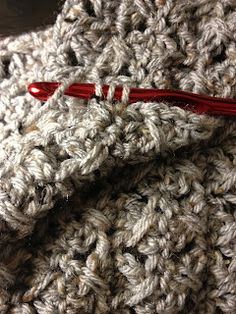 Lazy Quadruple Crochet Stitch