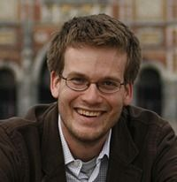 John Green:  A great author and one of the leaders of a great community.  Nerdfighters! DFTBA