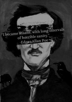 Empaths & Highly Sensitive People (HSP) •~• Edgar Allan Poe