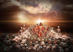 VOCÊ É MAIS DO QUE VENCEDOR, NÃO DESISTA!: Profeta, saia desse vale de ossos secos!!!!!!!!!!!
