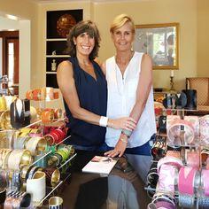 #ICYMI Jill & Pam #ontheroad at a Lema J show💜 #cuffsforacause