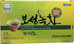 Boseong Ulnim Green Tea, 27.5g(1.1g X 25tea Bags), Certified Organic -- Want additional info? Click on the image.