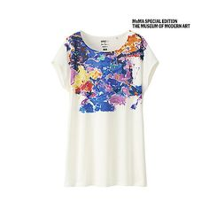 size l <img src=http://www.uniqlo.com/global_images/uk/store/clothing/copy/sprz-moma_copy.jpg><br><br>Sam Francis<br><br>Sam Francis, abstract expressionist painter and printmaker, was one of the 20th century's leading interpreters of light and color. Francis had studios all over the world, making his reach and inspirations truly international. His work references New York abstract expressionism, color field painting, Chinese and Japanese art, French impressionism, and his own Bay Area…