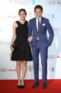 EE British Academy Awards Nominees Party - Eddie Redmayne, Hannah Bagshawe