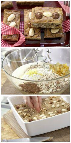 Honig, Nuss und Mandelkern haben nicht nur Kinder gern: Honigkuchen mit Mandeln und Nusskernen   http://eatsmarter.de/rezepte/honigkuchen-mandeln