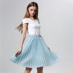 DOSOMA Tulle Pleated Skirts