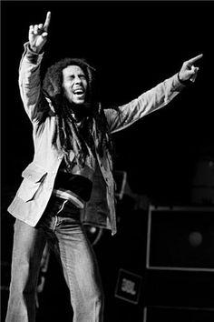 Bob Marley 1980 - Photographer Lynn Goldsmith.