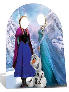 Party Ark's 'Disney Frozen Stand-In Cardboard Cutout (Child Sized)'