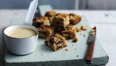Dried cherry and cranberry flapjacks - great for making with kids